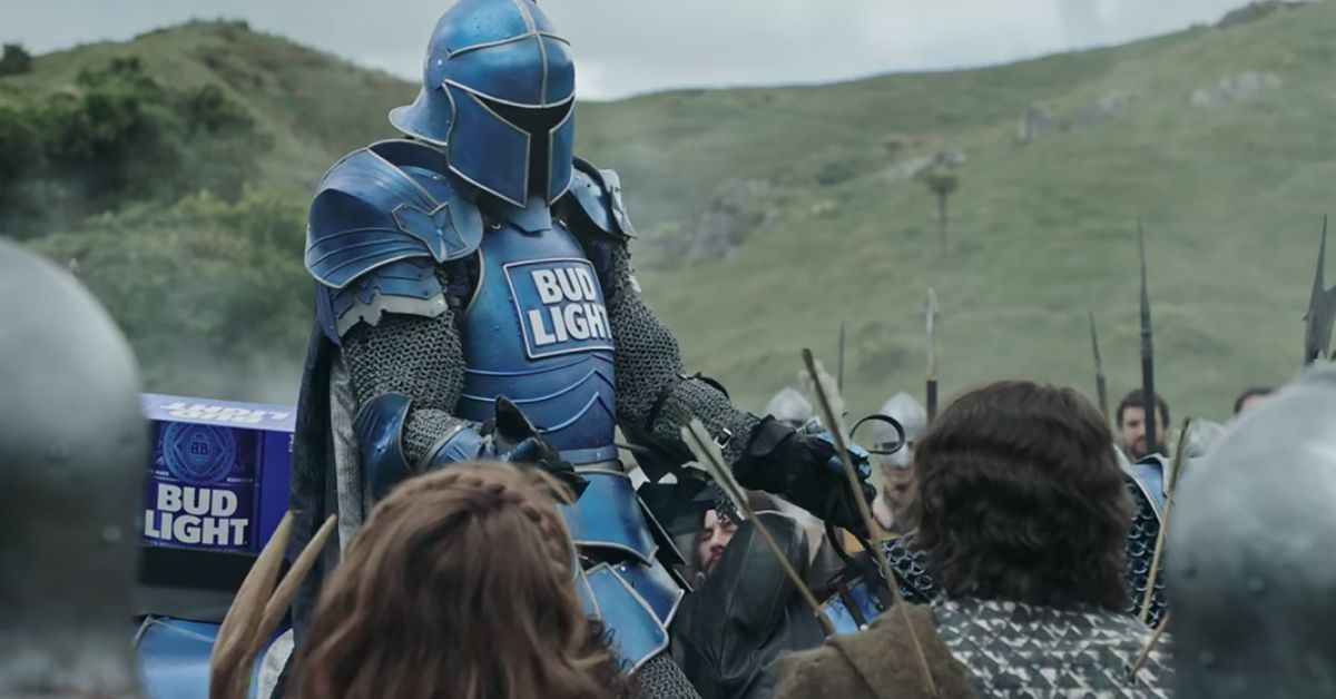 Heres bud lights dilly dilly super bowl commercial eater aloadofball Images