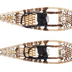 """<a href=""""http://www.vogue.com/guides/holiday-gift-guide-gifts-for-500-and-under/"""">Iverson beaver-tail wooden snowshoes</a>, $276. Because dad's always talking about taking up snowshoeing."""