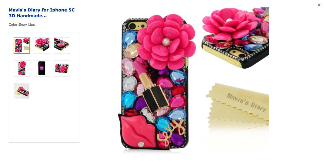 bejeweled phone case