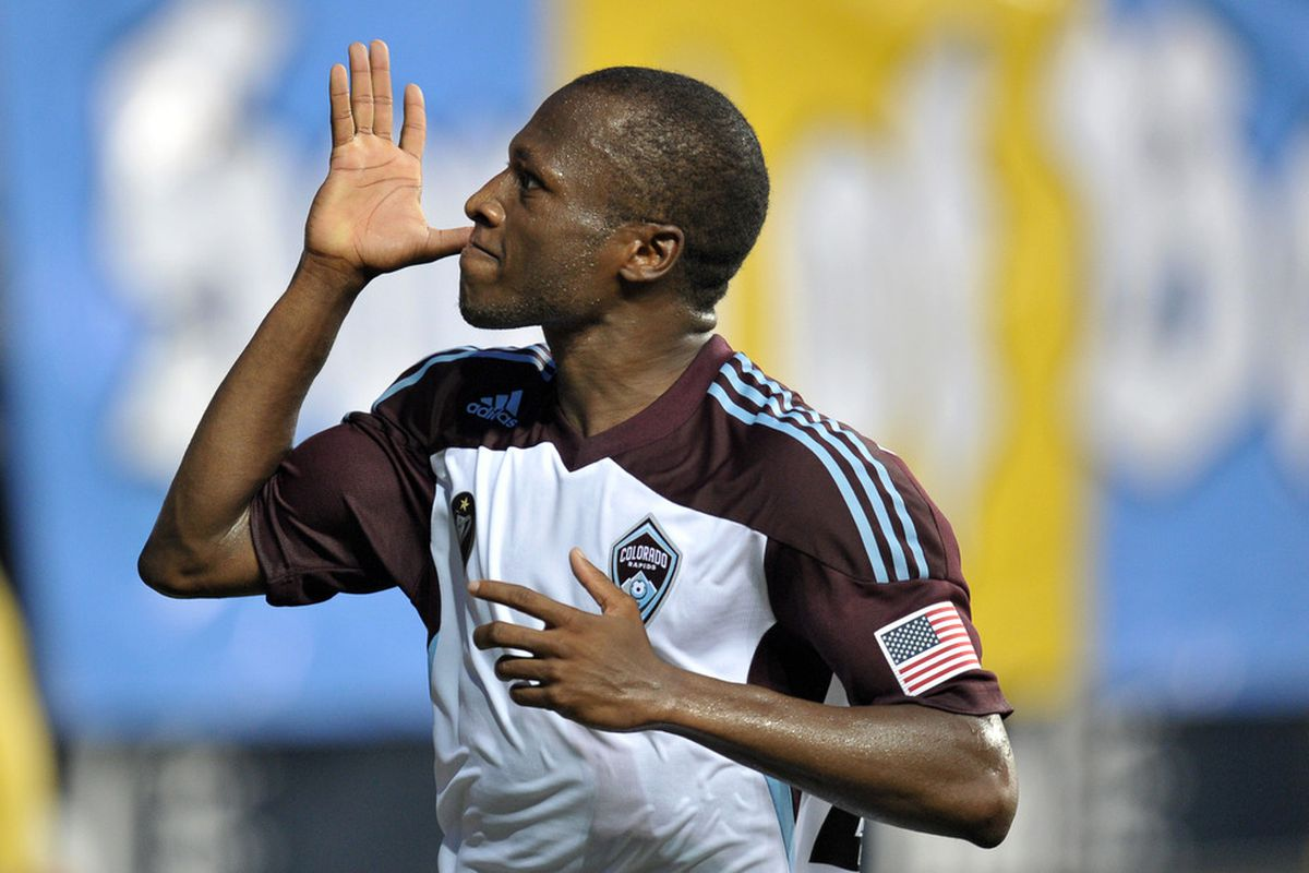 Sanna Nyassi and the Rapids are the League's Hottest Team This Week, winning 4 of their last 5 (and tying the 5th).