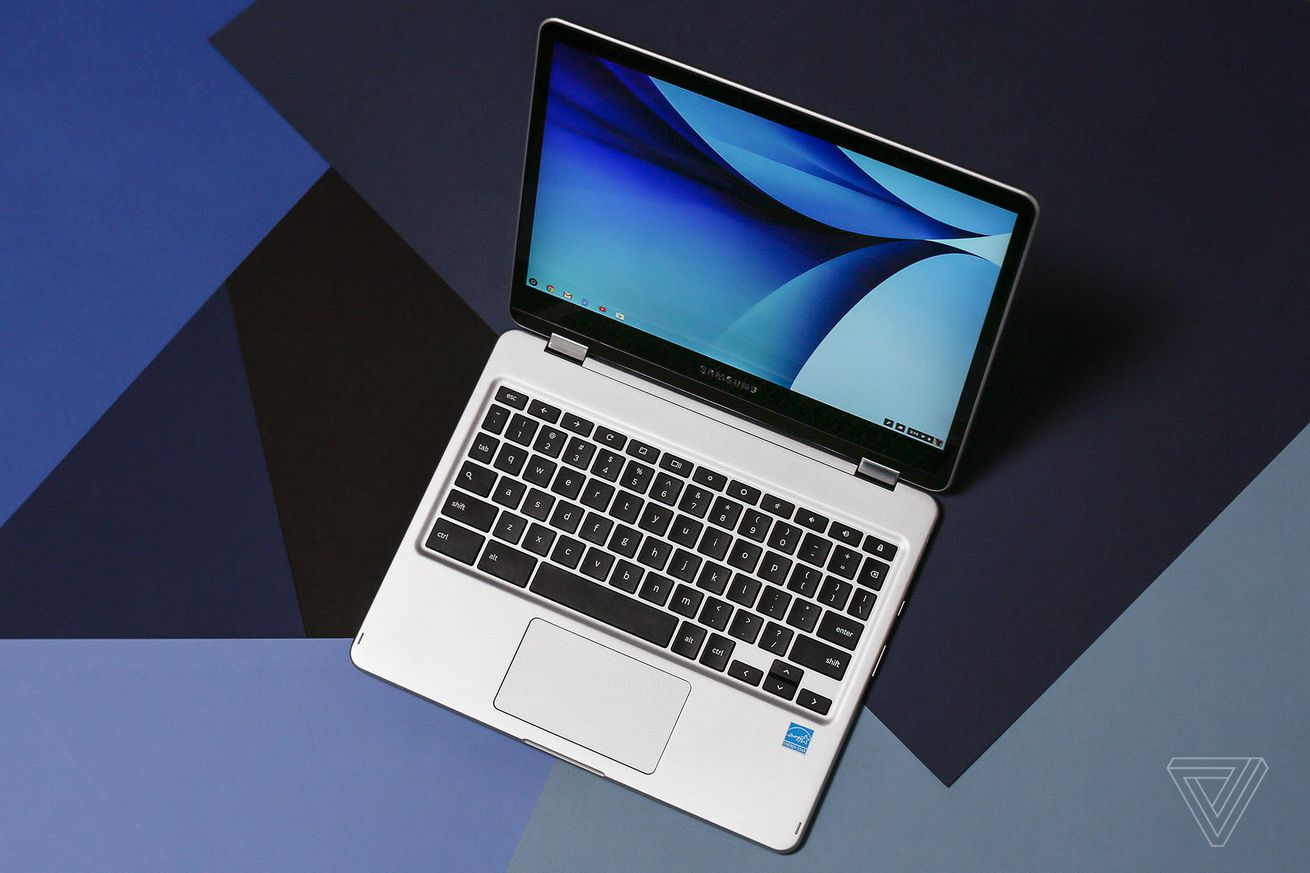 samsung s chromebook plus now supports linux apps