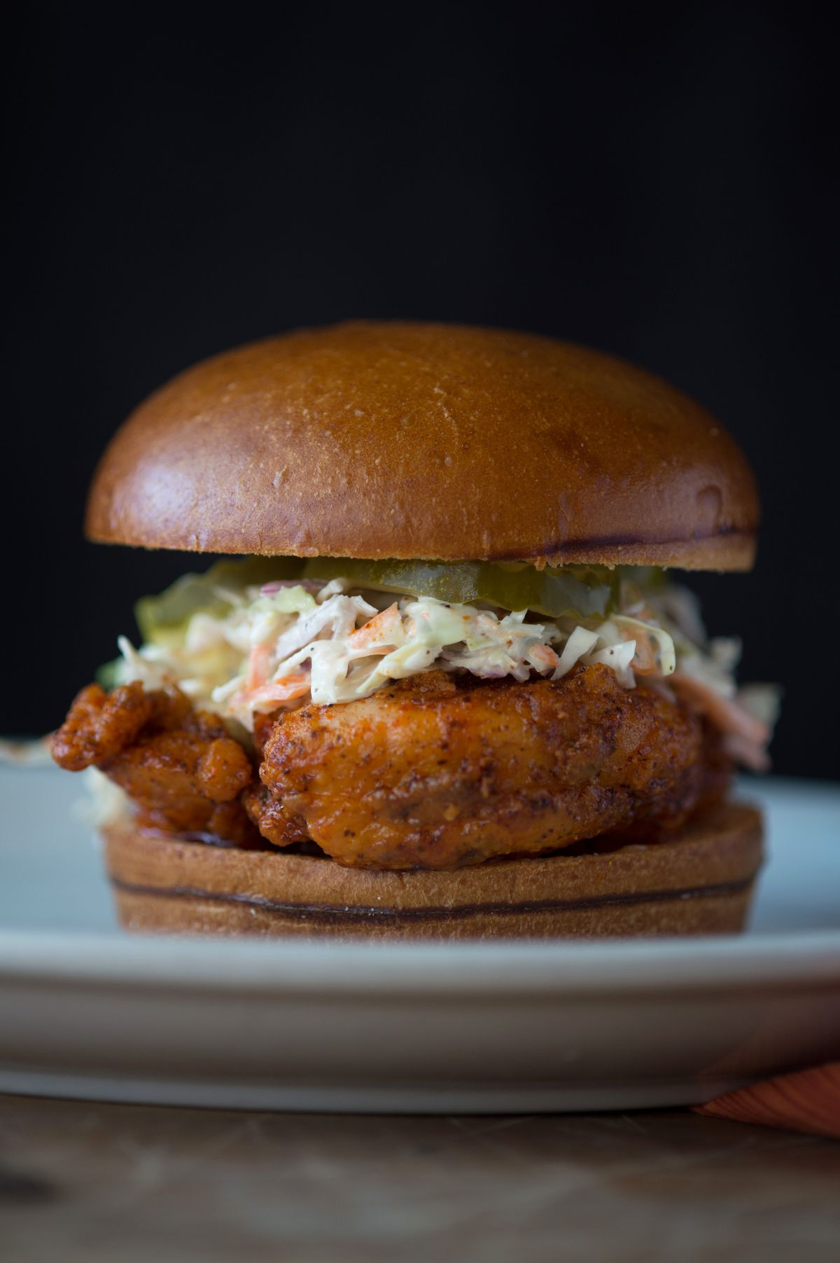 The Nashville Chicago hot chicken sandwich is on the menu at BJ's Market & Bakery at Taste of Chicago.