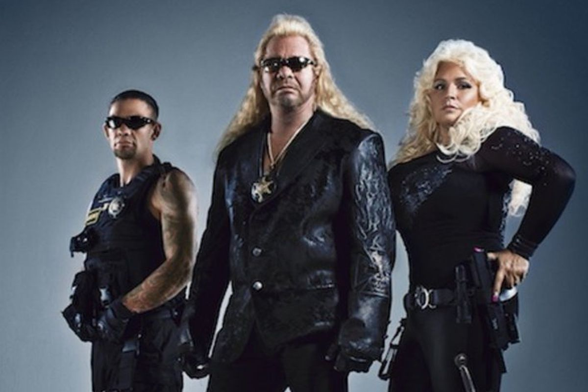 Dog The Bounty Hunter And Son Leland Try To Draw War Machine