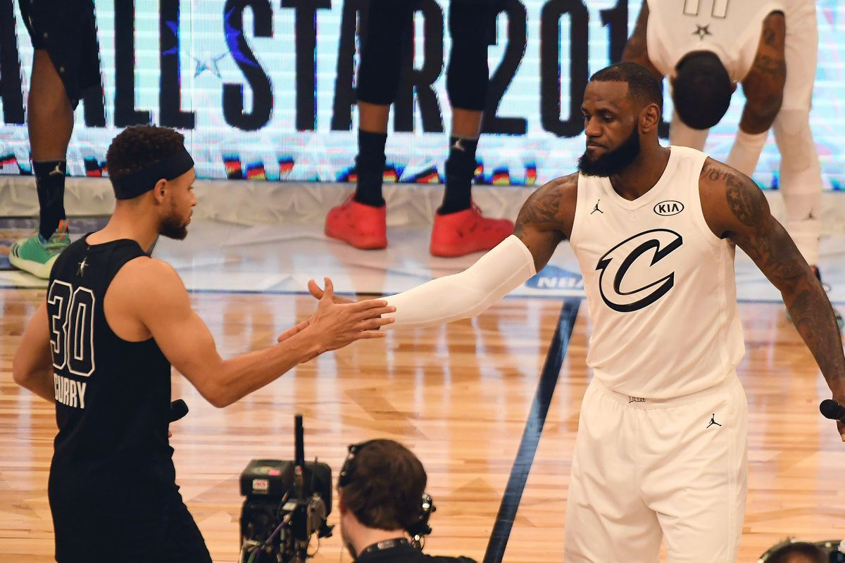 64aeaa17329 NBA All-Star Game 2018 final score: Team Curry falls to Team LeBron ...