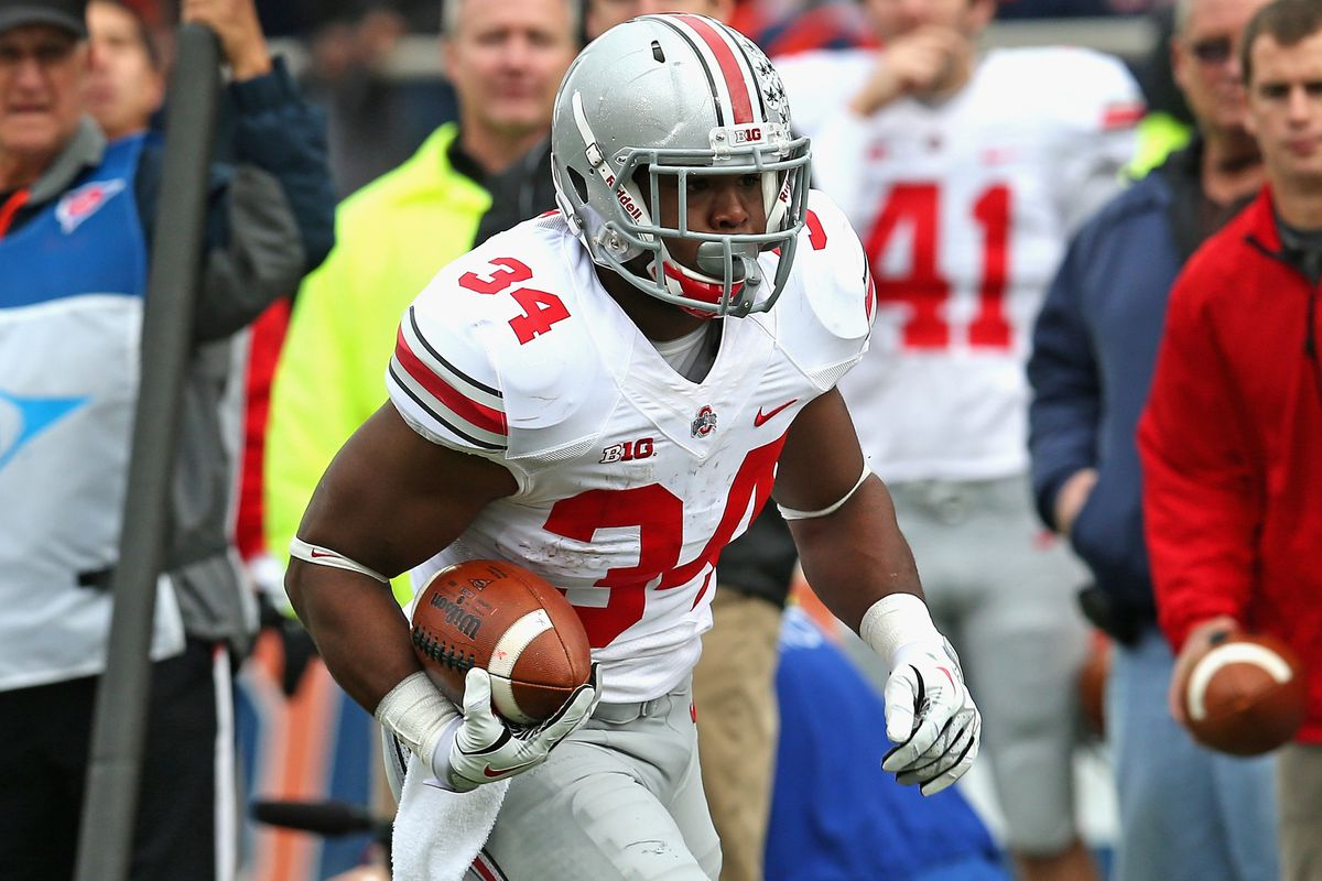 Barring injury, Carlos Hyde's going to be Urban Meyer's first 1,000 yard tailback.