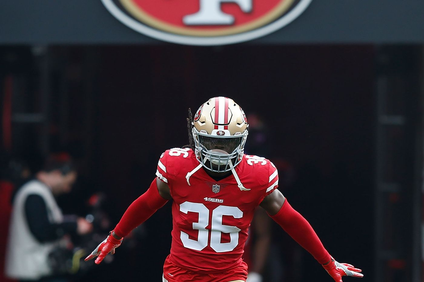 cheap for discount 94235 7cb33 49ers rookies: Safety Marcell Harris is off to strong start ...