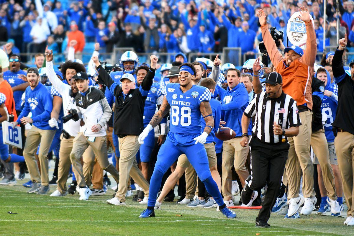 COLLEGE FOOTBALL: DEC 31 Belk Bowl - Virginia Tech v Kentucky