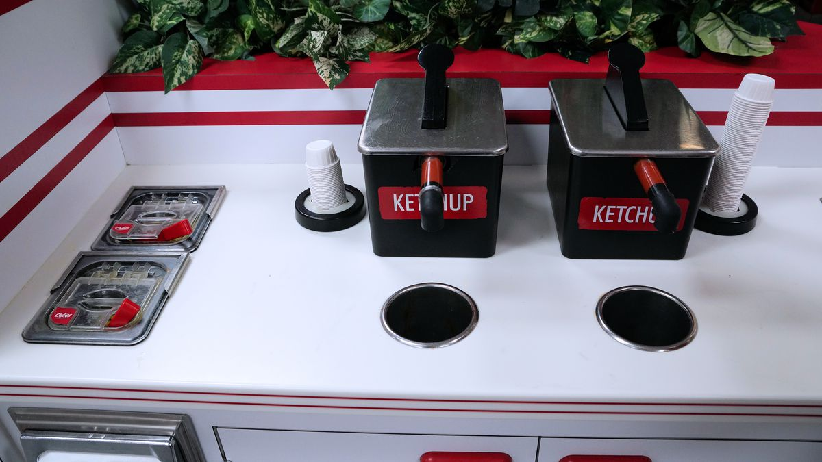 In-N-Out Burger Condiments