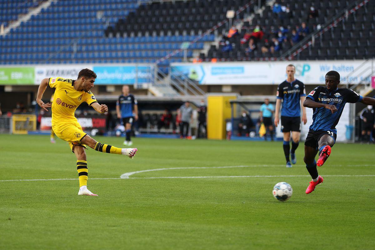 SC Paderborn 07 v Borussia Dortmund - Bundesliga