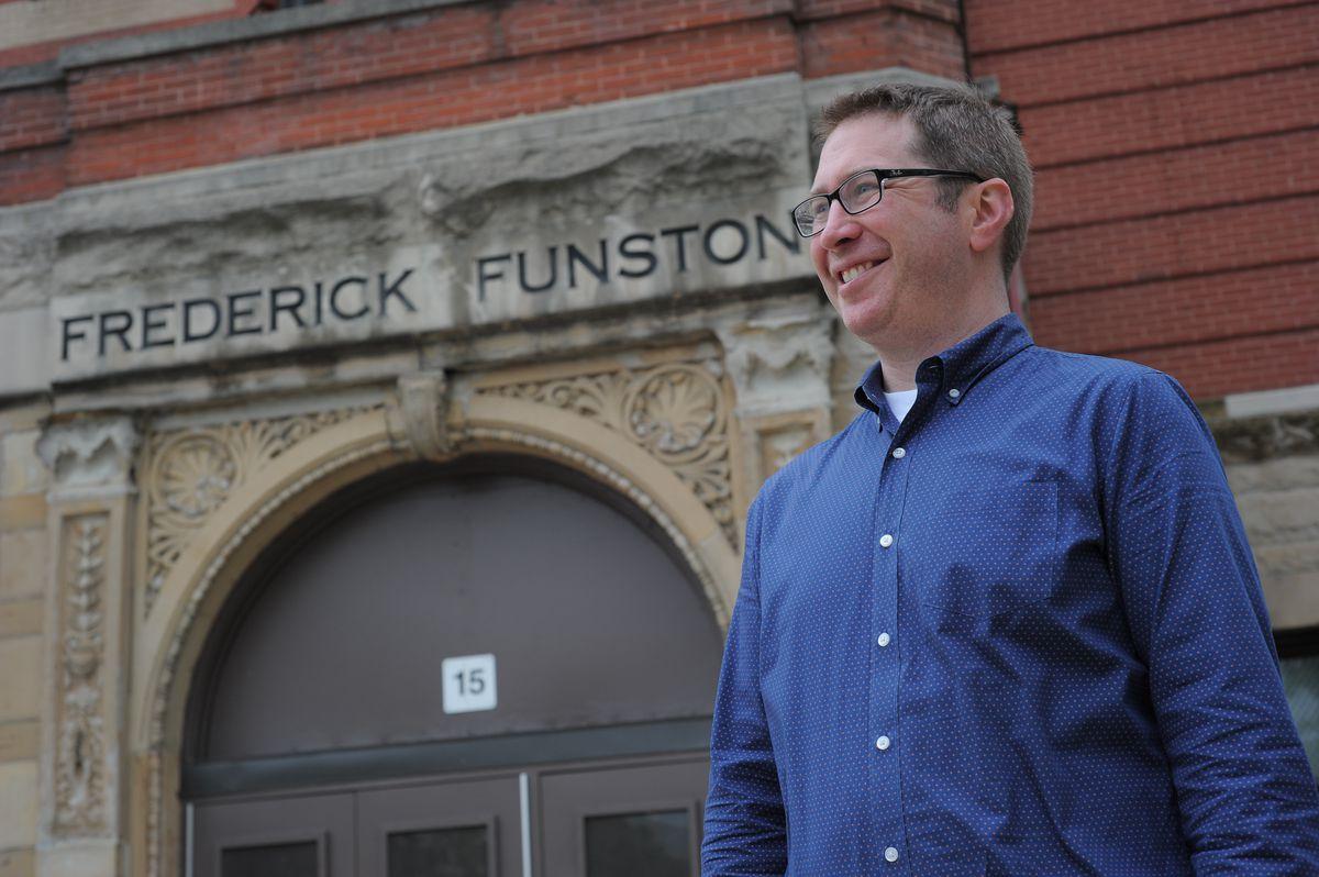 Matthew Glanzman, assistant principal at Funston Elementary School