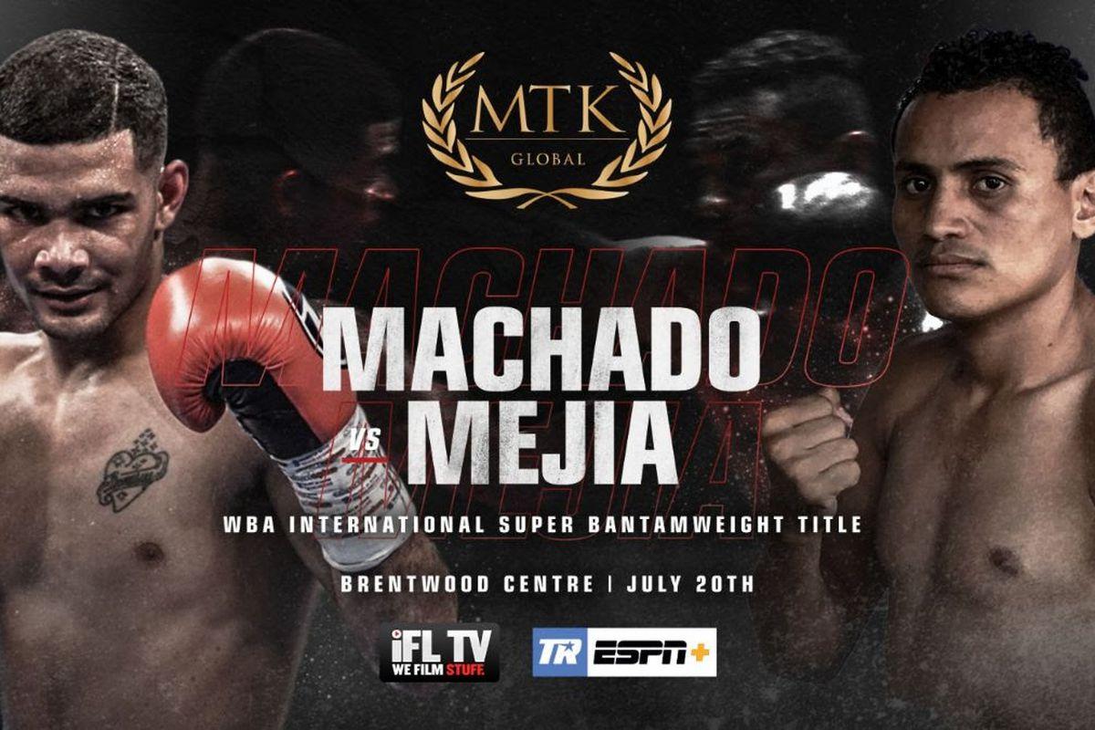 Neslan Machado to face Alexander Mejia on July 20 ESPN+ card