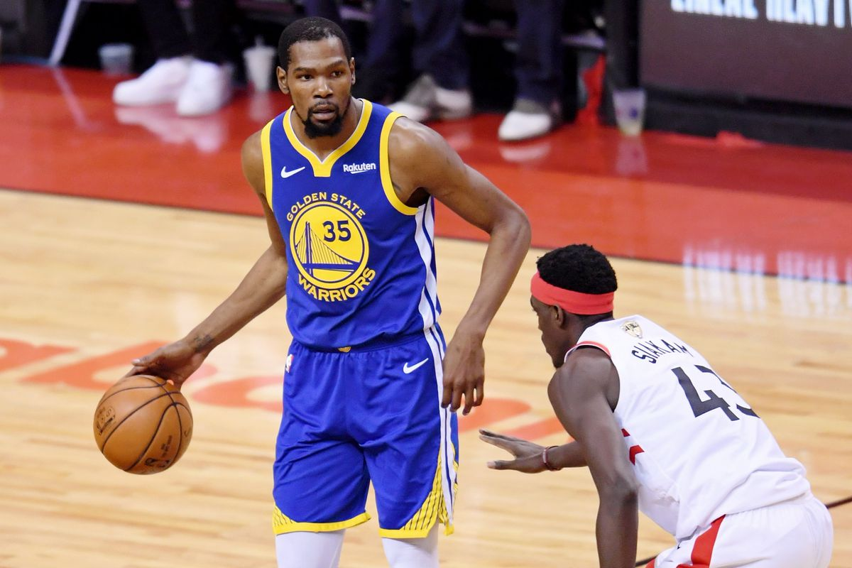 Kevin Durant says the Warriors didn't mishandle his injury