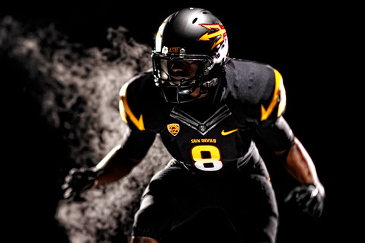 The Sun Devils are really excited to unveil this look against the highly-respected Missouri Tigers on September 9 in the first-ever ASU Black Out.
