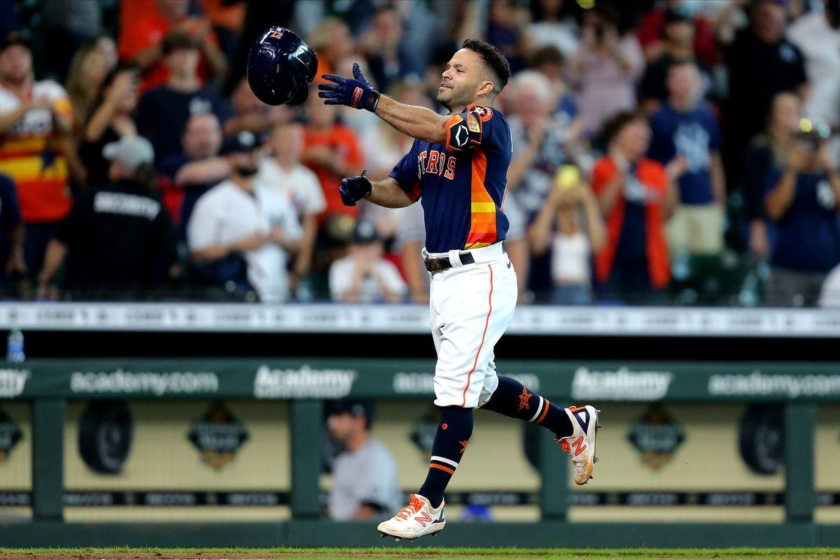 MLB: New York Yankees at Houston Astros