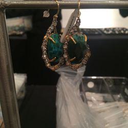 Earrings, $75