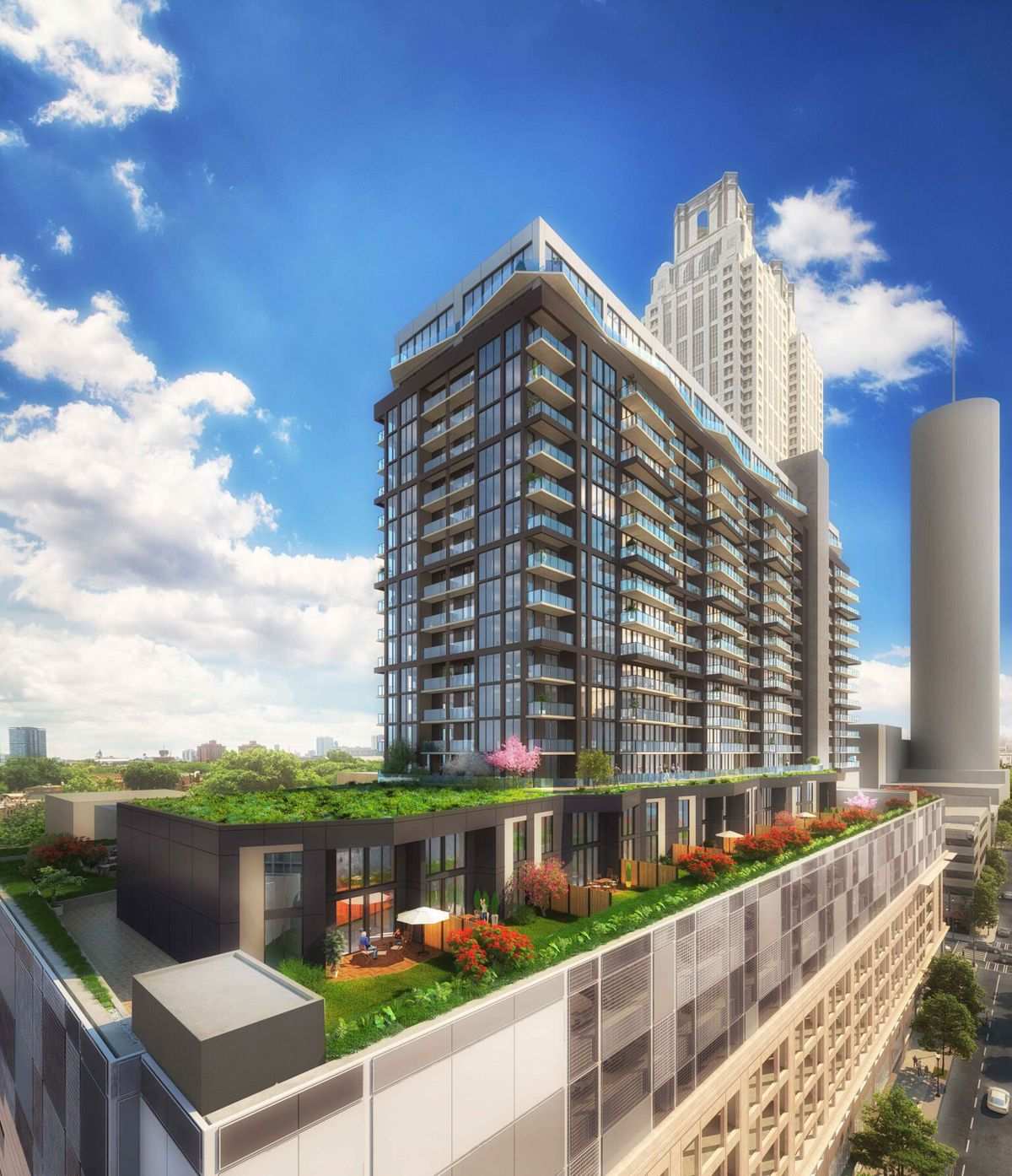 Downtown Atlanta's $125M Parking Deck-topping Tower To