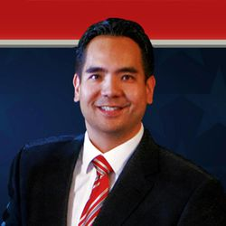 Sean Reyes, candidate for Utah attorney general, filed a defamation lawsuit Friday against his Republican opponent John Swallow.
