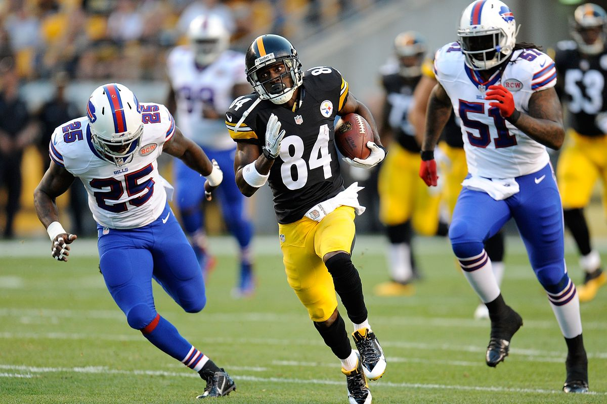 Report Bills Closing In On Trade For Antonio Brown Silver