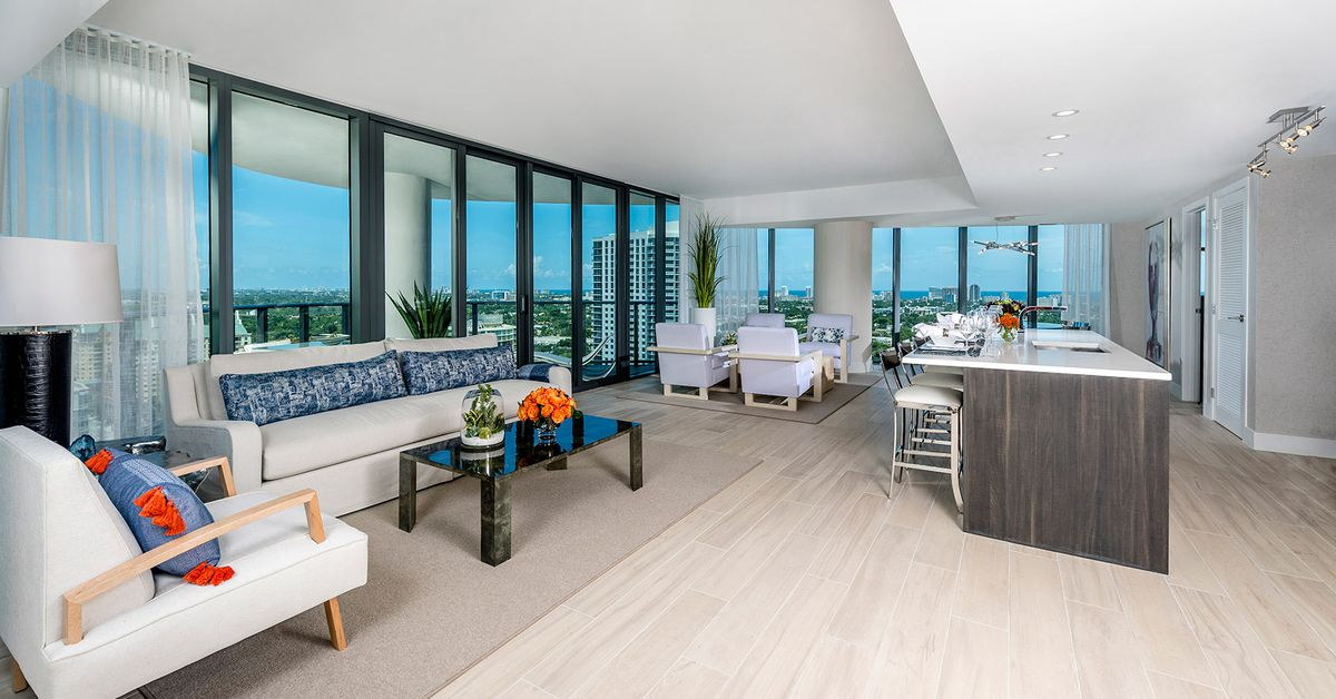 Inside The Model Units At Icon Las Olas Fort Lauderdale S