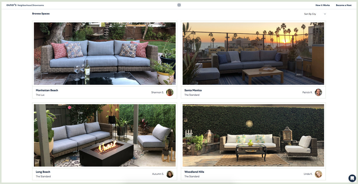 Outdoor furniture startup Outer wants to turn your backyard ...