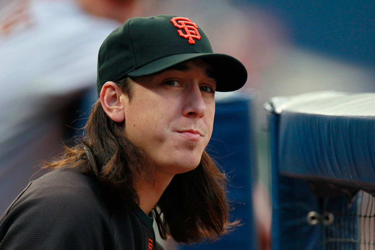Tim Lincecum is setting himself up for an epic free agency in a couple of years.  (Photo by Kevin C. Cox/Getty Images)