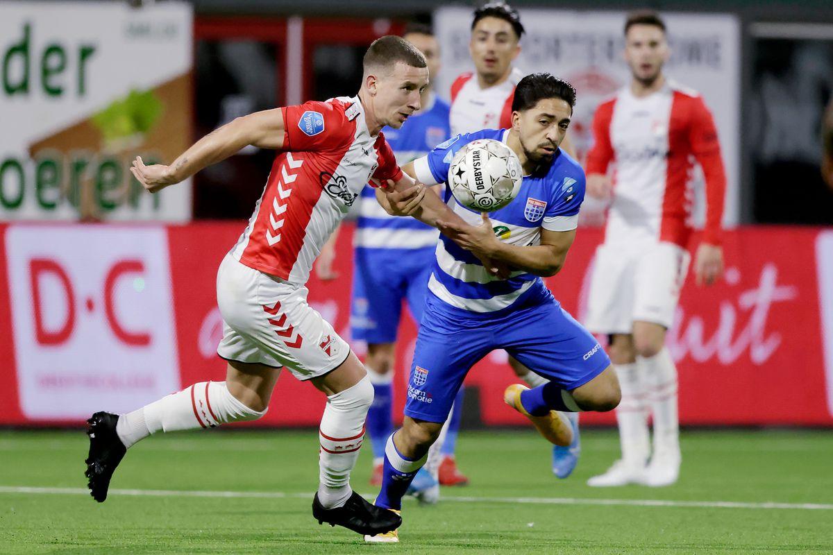 FC Emmen v PEC Zwolle - Dutch Eredivisie