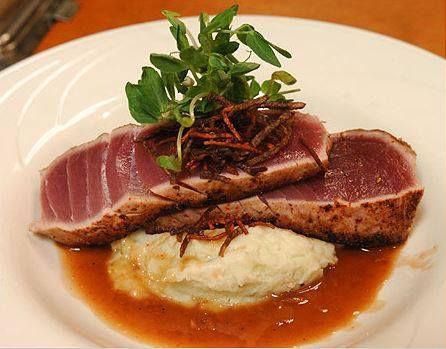 A tuna dish