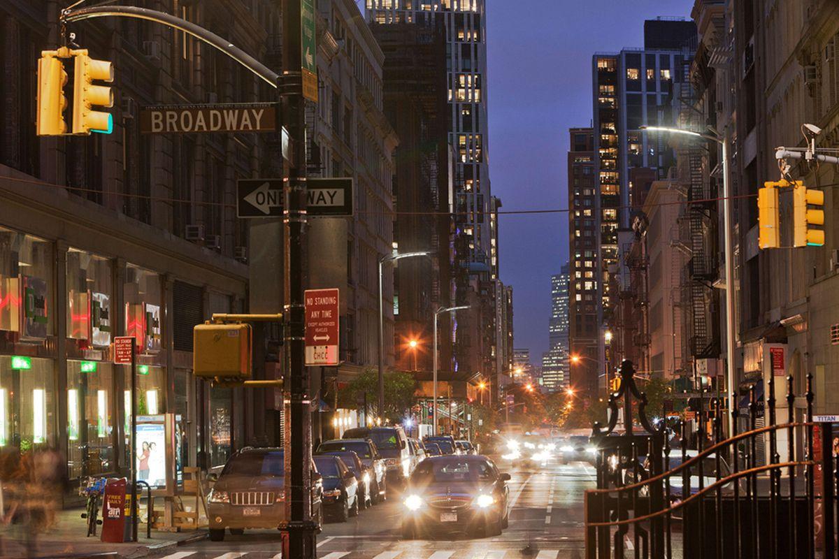 New York City LED street light concept