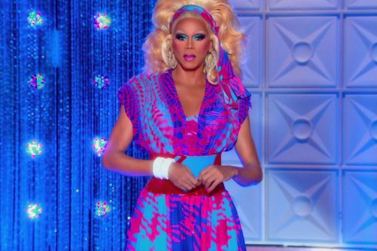A still of RuPaul from RuPaul's Drag Race