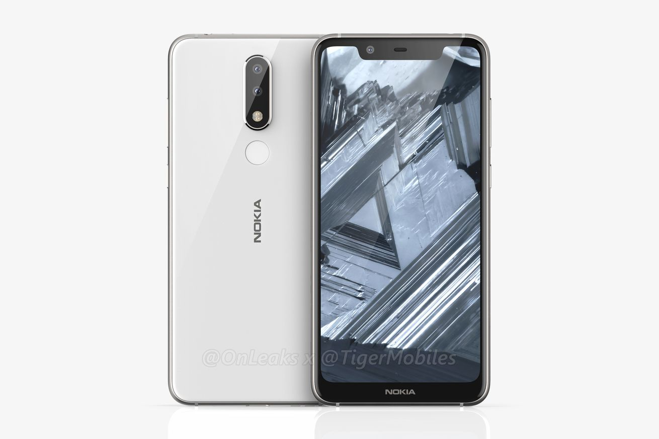 leaked images reveal a notched nokia 5 1 plus with dual cameras