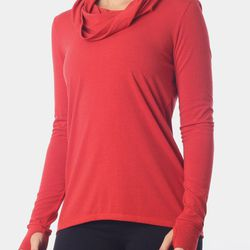 """Our pick: Go straight from your sweat sesh to a lounging sesh in this cowl neck shirt. Ella II long-sleeve jersey top, $79 at <a href=""""http://www.nuxusa.com/index.php/tops/hoodies-jackets/ella-ii.html"""">NUX</a>"""
