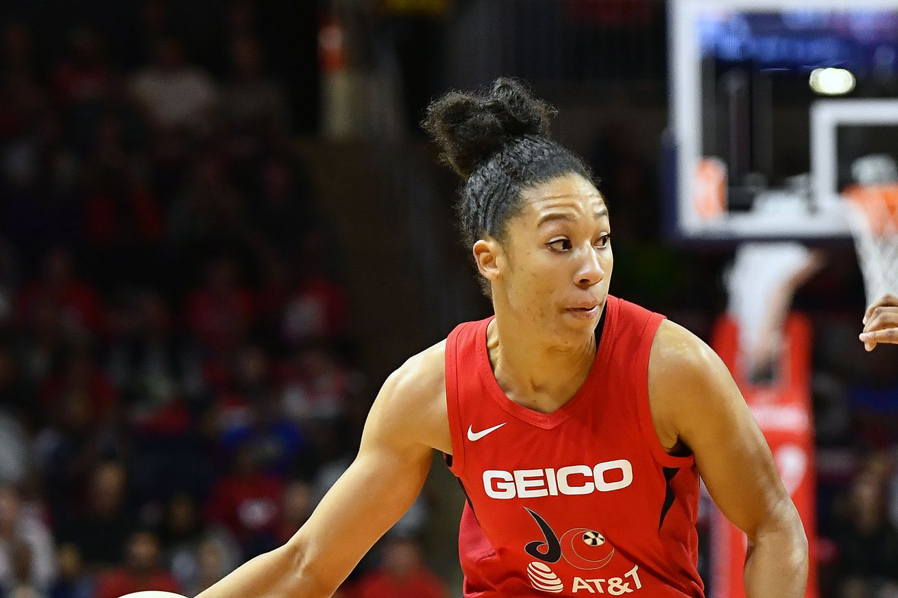 WNBA: Finals-Connecticut Sun at Washington Mystics