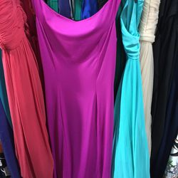 Christian Siriano gown (with stretched neckline), $313