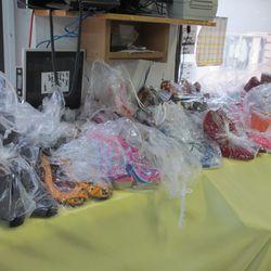 Runway Shoes -- Each Pair In A Plastic Bag