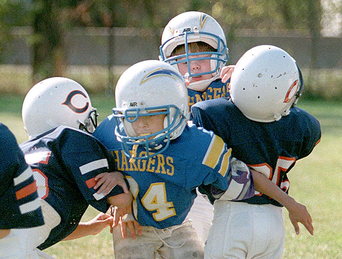 The co-author of a new book on being a sports parent isn't a fan of tackle football. | Sun-Times file photo