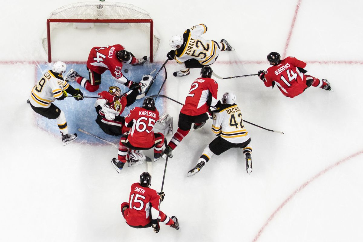 Boston Bruins v Ottawa Senators - Game Five