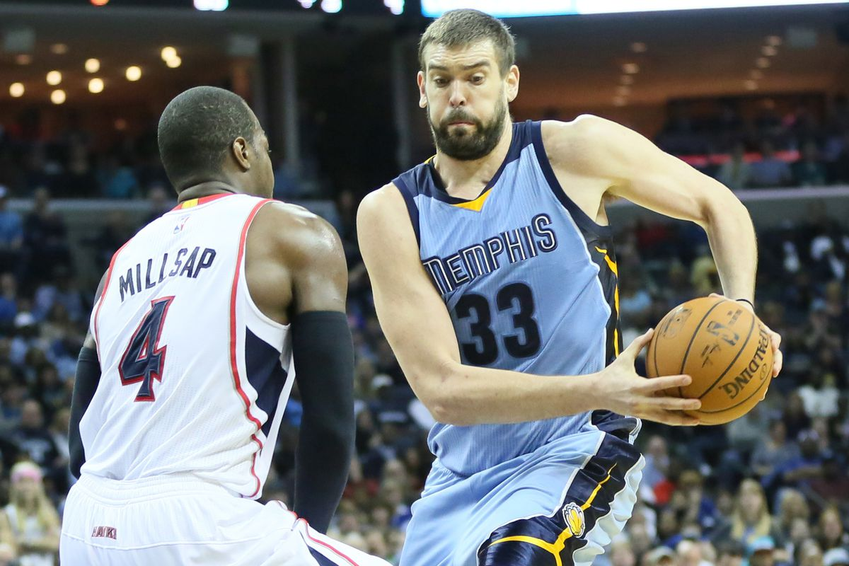 Marc Gasol and the Grizzlies head to the ATL for another preseason game, this time against Paul Millsap and the Hawks.