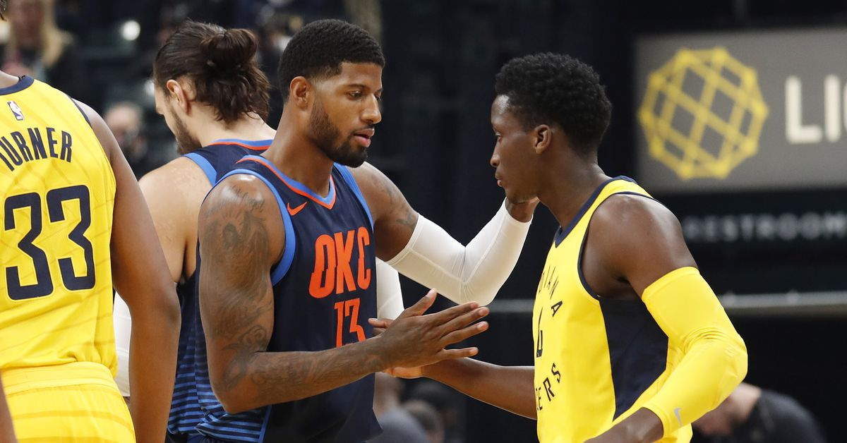 Paul George's return to Indiana was an ugly, but necessary, win for the Thunder