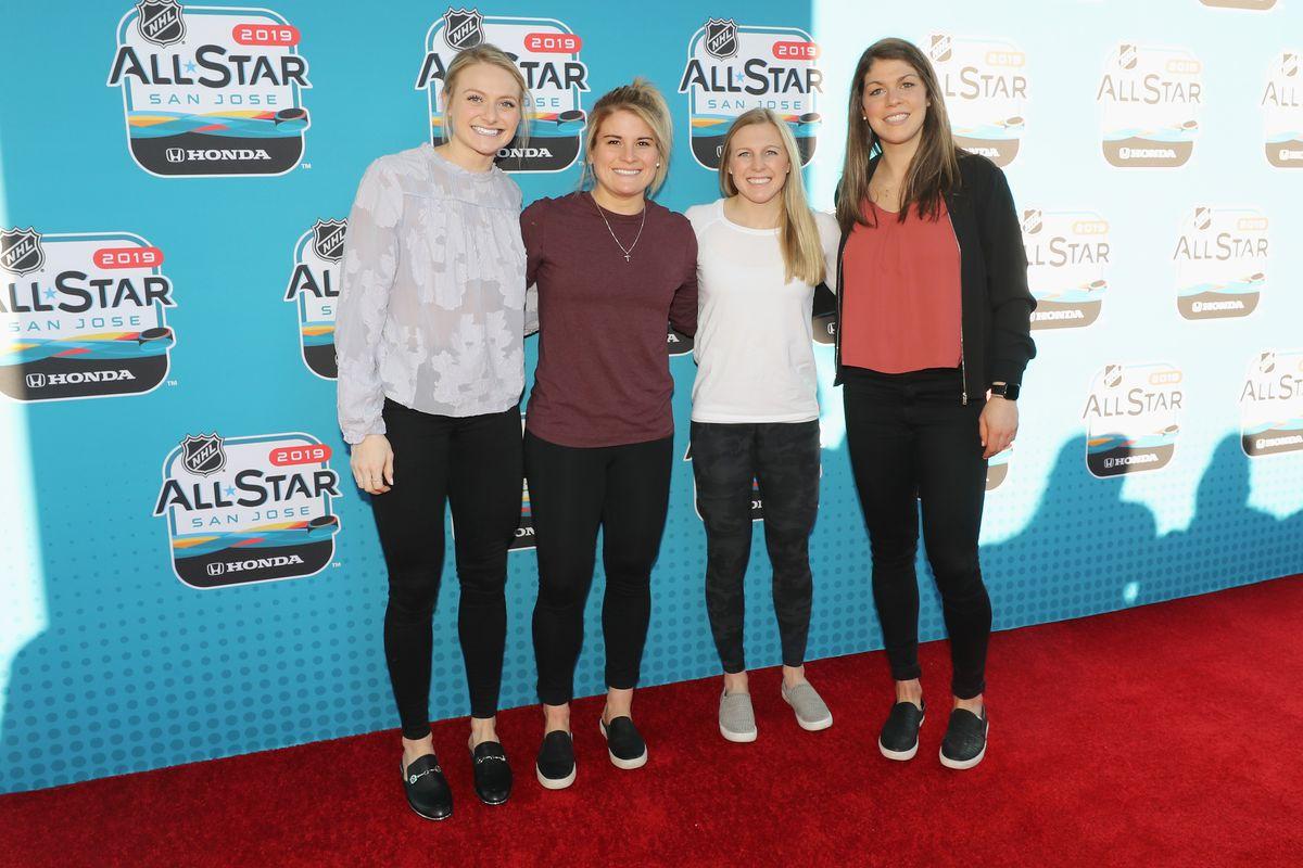 2019 NHL All-Star - Red Carpet