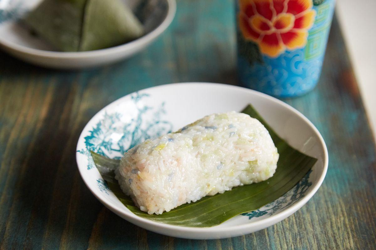 Kopitiam's rainbow sticky rice