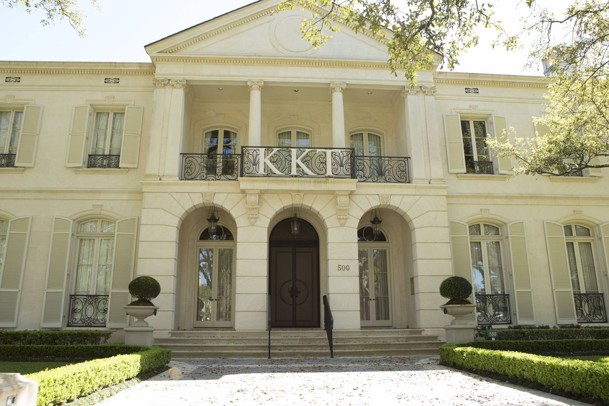 "The fictional Kappa Kappa Tau house in ""Scream Queens""/Via Fox.com"