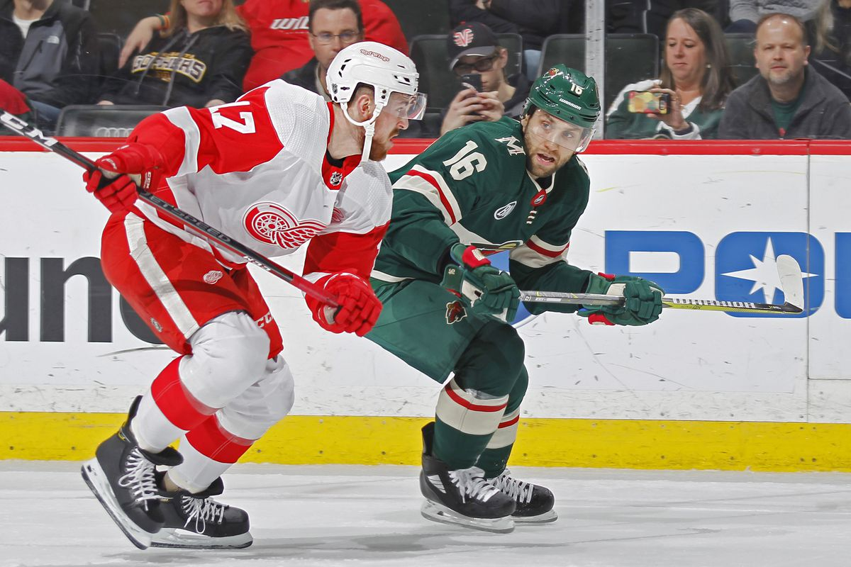 Preview Wild To Take On Red Wings In Last Game Before All Star