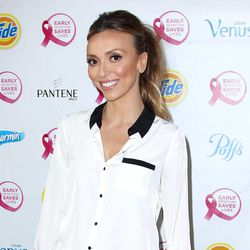 """This image released by Starpix shows TV personality Giuliana Rancic attending the """"Do It For the Girls!"""" event, Thursday, Sept. 20, 2012, in New York.  The initiative, sponsored by Proctor & Gamble and the National Breast Cancer Foundation, hopes to motivate woman nationwide to conduct a breast self-exam and create an early detection plan for breast cancer. In addition, P&G will donate an uncapped amount to the National Breast Cancer Foundation through online social momentum and brandSaver coupons.  Last October, Rancic announced that she had breast cancer and later revealed that she was undergoing a double mastectomy."""