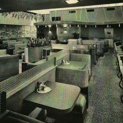 Interiors at current location. 1953.