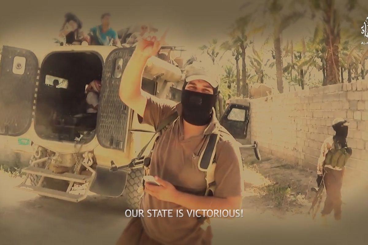Screengrab from some ISIS propaganda.