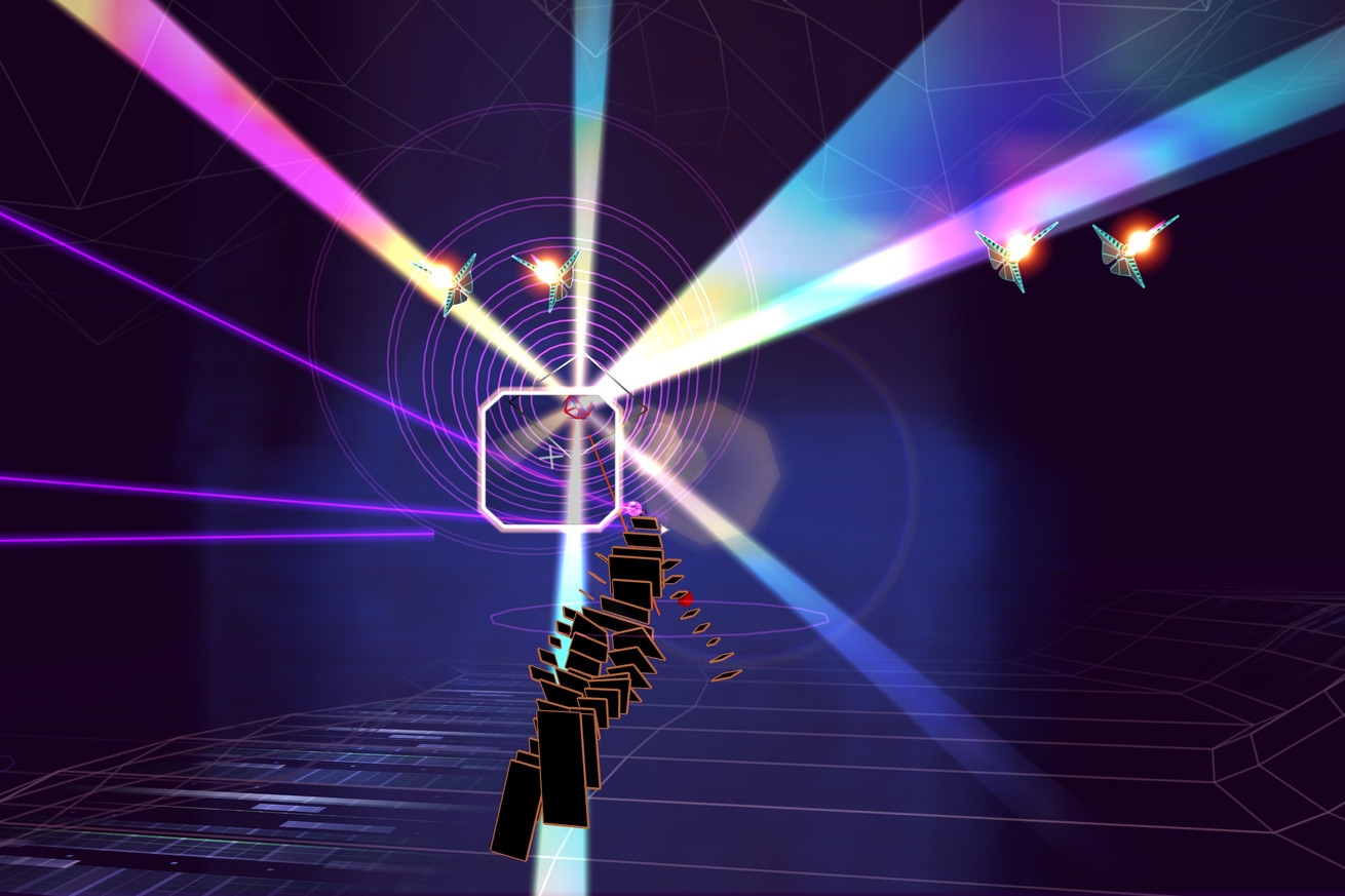 Rez Infinite is out now on PC with VR support