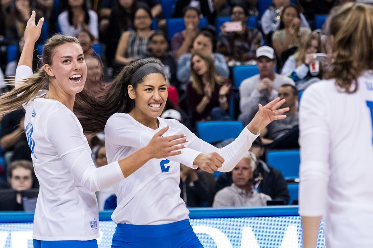 UCLA Women's Volleyball Beats OSU in 5 Sets; Faces #16 ...