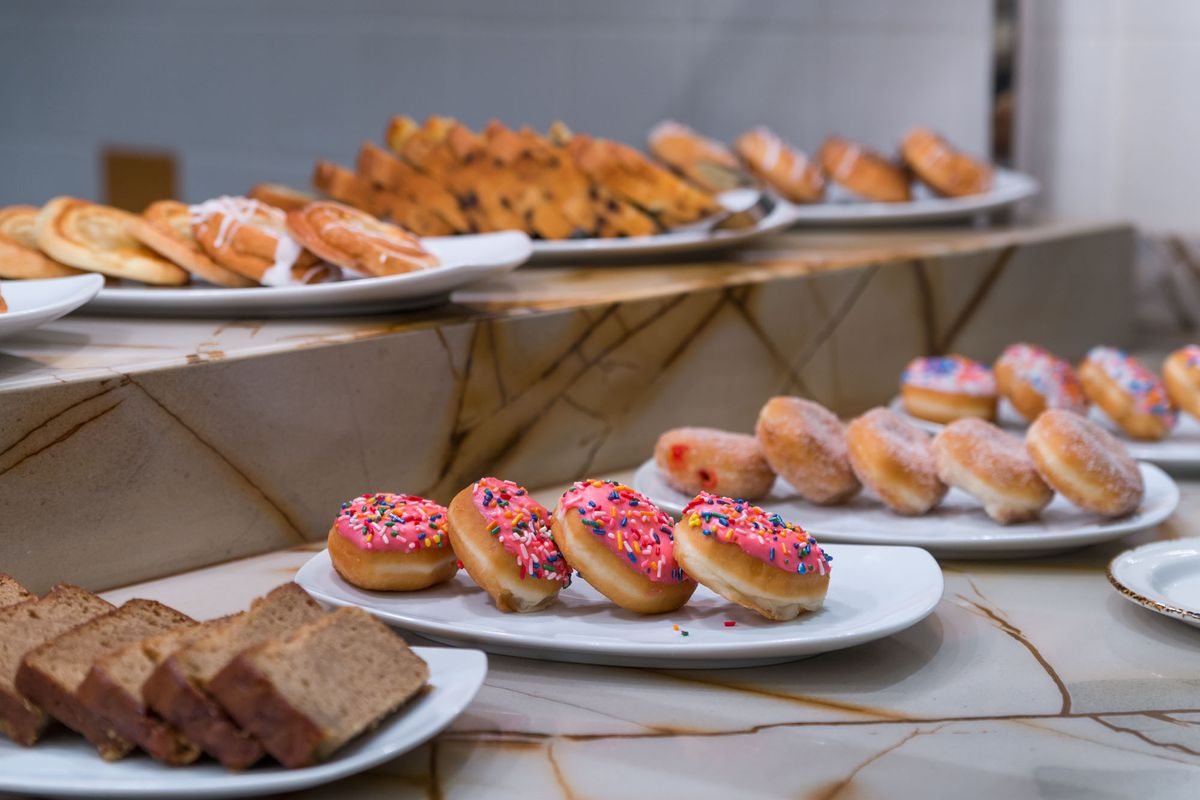 Desserts at the Feast Buffet