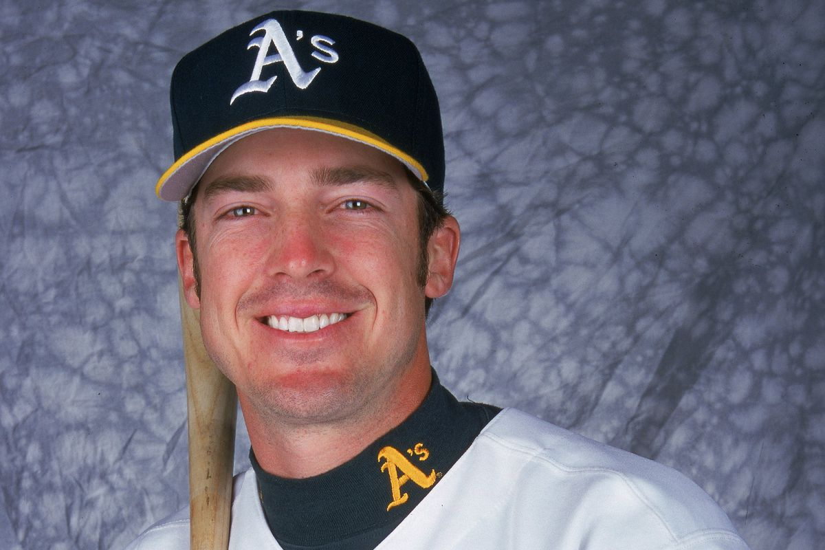 Double-A manager Ryan Christenson, when he played for Oakland in 2000.