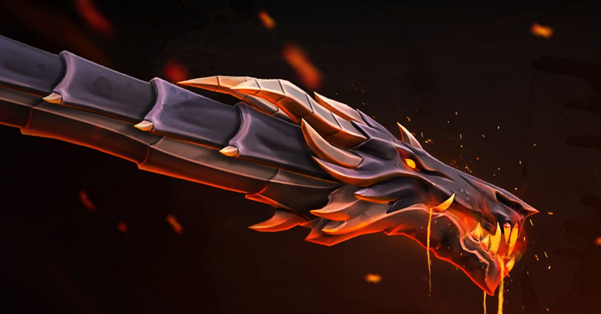 How Riot made Valorant's new dragon-themed Elderflame gun skins